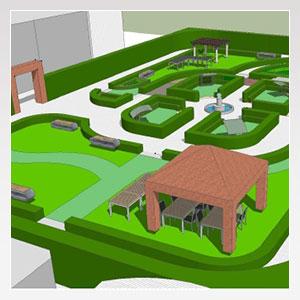 All ospedale un giardino riabilitativo azienda - Lotta alle talpe in giardino ...