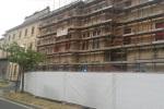 Maternità, partiti i lavori di ristrutturazione della facciata
