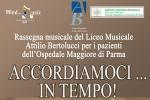 Gli studenti del Bertolucci portano la musica in Ospedale